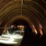 Gaudi exhibit in the attic of the Casa Mila apartment