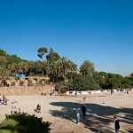 Parc Guell plaza