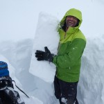 Darren and snow block, failure on Feb 8 hoar layer