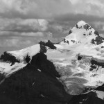 Mt Forbes from the Lyell Icefield