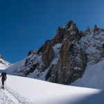 Towards Col du Chardonnet, Haute Route, France