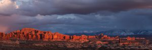 Windows area at Arches National Park, Moab, Utah