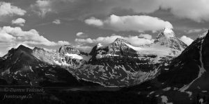 Mt. Assiniboine and Magog Lake, Assiniboine Park, British Columbia