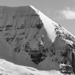 Skyladder route on Mt. Athabasca