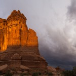 Wall Street sunset, Arches National Park, Utah